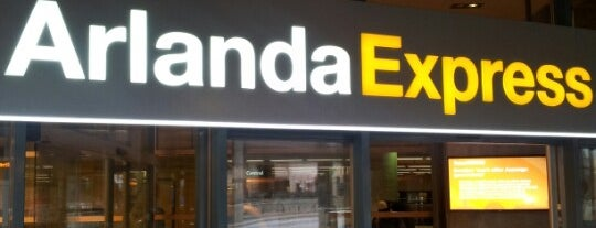 Arlanda Express (Stockholm C) is one of Stockholm City Guide.