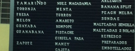 Nevería Roxy is one of Condesa.
