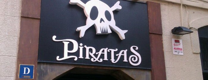 Discoteca Piratas is one of Barcelona.