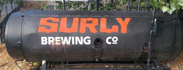 Surly Brewing Co is one of Breweries.