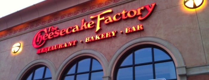 The Cheesecake Factory is one of centereach.