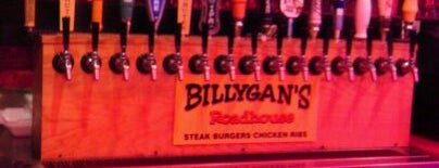 Billygan's Roadhouse is one of สถานที่ที่ Wendy ถูกใจ.