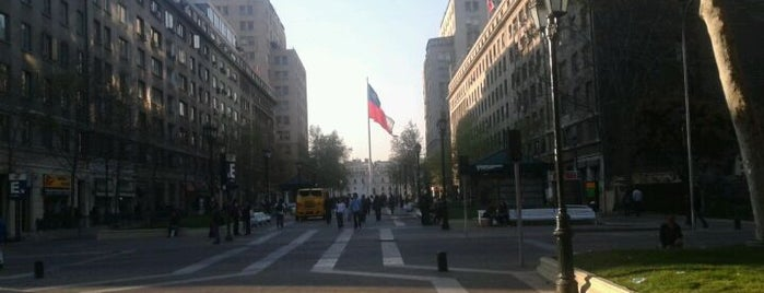 Paseo Bulnes is one of [S]antiago.
