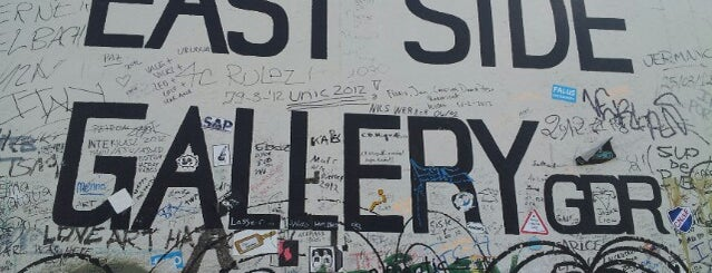 East Side Gallery is one of Berlin | Deutschland.