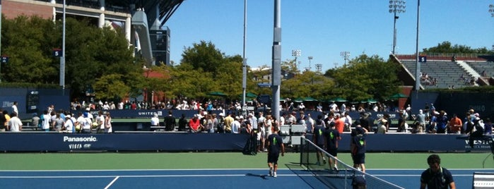 Court 4 - USTA Billie Jean King National Tennis Center is one of Must-visit Stadiums in Flushing.