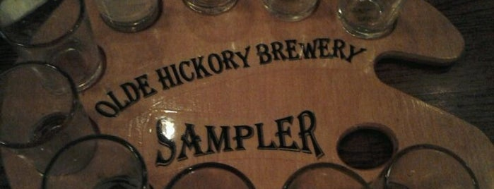 Olde Hickory Tap Room is one of Best US Breweries--Brewery Bucket List.