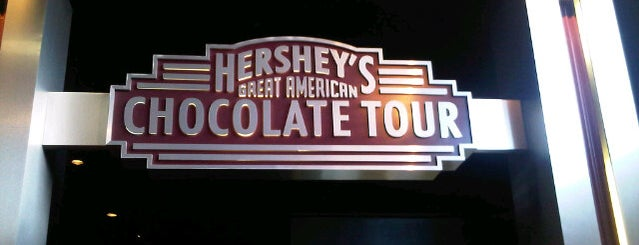 Hershey's Great American Chocolate Tour is one of Locais curtidos por Leonda.