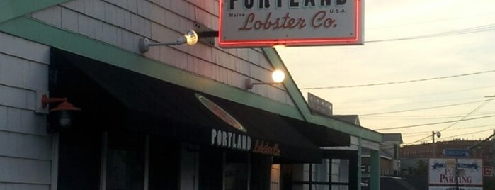 Portland Lobster Company is one of Portlandiame.
