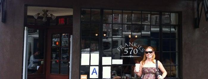 Frankies Spuntino 570 is one of Best West Village Brunch Spots.