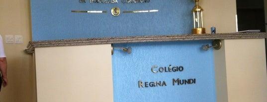 Colégio Regina Mundi is one of Locais curtidos por Aline.