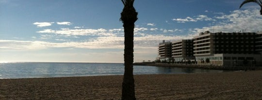 Playa del Postiguet is one of Alicante #4sqCities.