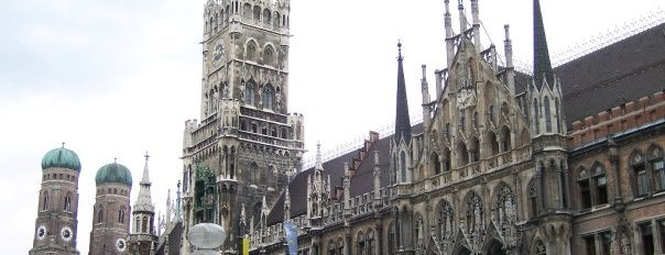 Marienplatz is one of Munich.