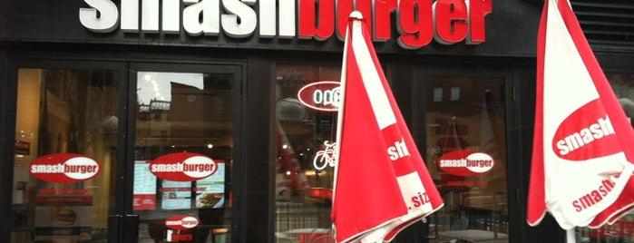 Smashburger is one of Orte, die Matt gefallen.