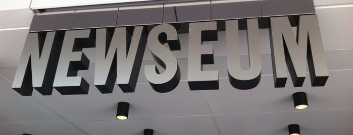 Newseum is one of Great places for museum mysteries.
