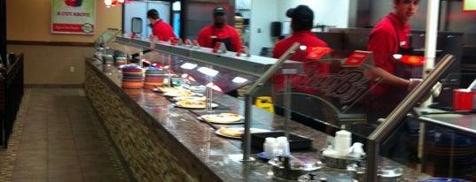 Stevi B's Pizza Buffet is one of Posti salvati di Eric.