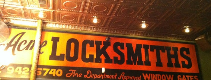 Locksmith Bar is one of Chicken Joint-To-Do List.