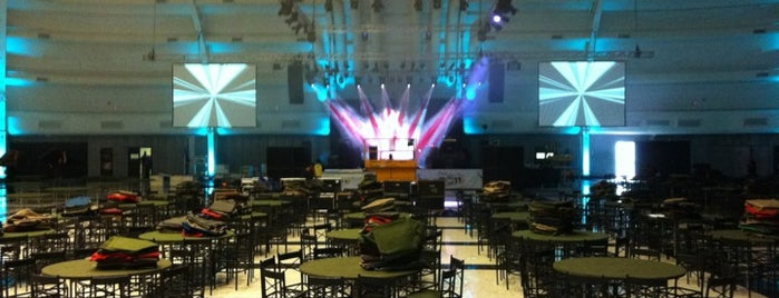 WTC Events Center is one of Trabalho.