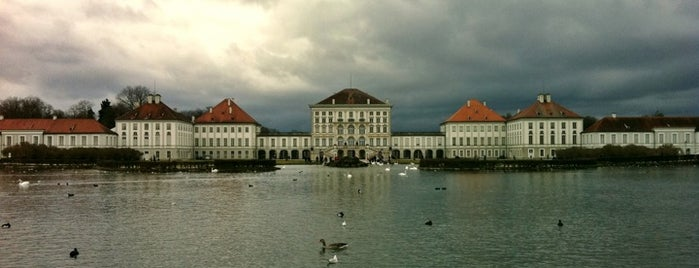 Schloss Nymphenburg is one of Munich / Germany.