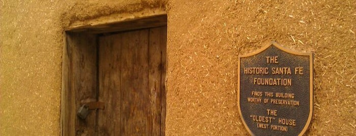 The Oldest House in the USA is one of New Mexico.