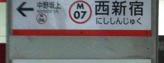 Nishi-shinjuku Station (M07) is one of Travel.