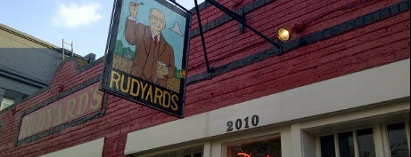Rudyard's British Pub is one of Houston.