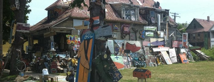 The Heidelberg Project is one of What to do in Detroit during the conference!.