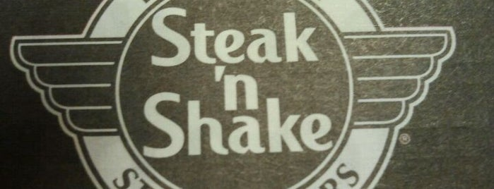 Steak 'n Shake is one of Locais curtidos por Chris.