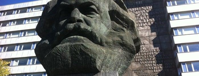 Karl Marx Monument is one of Karl : понравившиеся места.