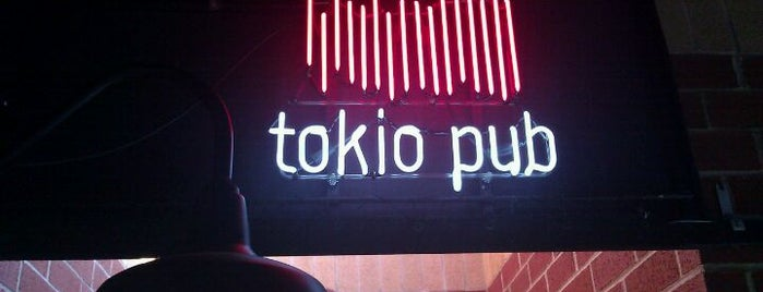 Tokio Pub is one of Foodie stops.