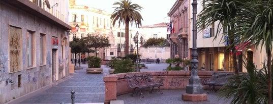 Piazza Eleonora d'Arborea is one of SARDEGNA - ITALY.