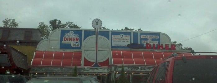"""Jefferson Diner is one of """"Diners, Drive-Ins & Dives"""" (Part 2, KY - TN)."""