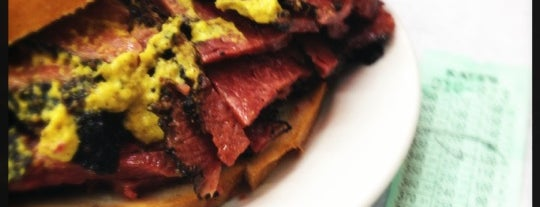 Katz's Delicatessen is one of ITP Foodies List.