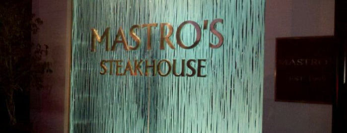 Mastro's Steakhouse is one of Dankest LA Eats.