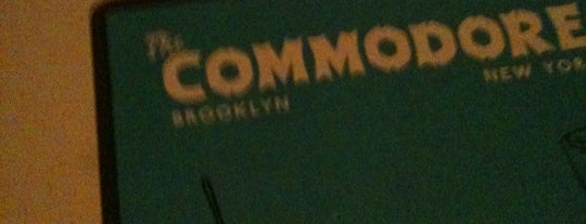 The Commodore is one of places.