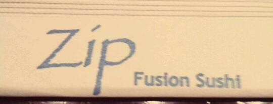 Zip Fusion Sushi is one of LA.