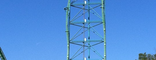 Kingda Ka is one of Must Ride Roller Coasters.