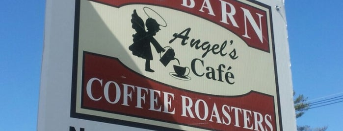 Red Barn Coffee At Angel's Cafe is one of Daily stops.