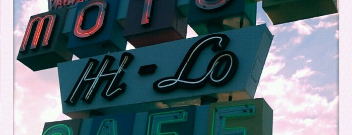 Hi-Lo Cafe is one of Northern CALIFORNIA: Vintage Signs.