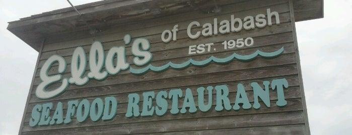 Ella's of Calabash is one of Orte, die JL gefallen.