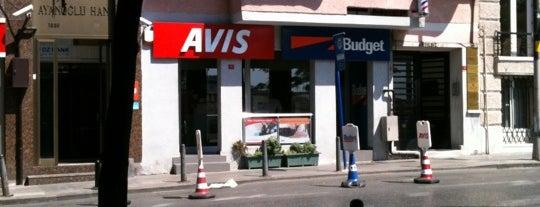 Avis Car Rental is one of American Express - Venue list.