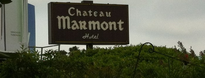 Château Marmont is one of la.