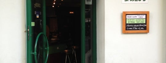 Shuzo's is one of Comer en Madrid.