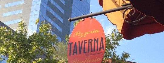 Taverna is one of places to try.