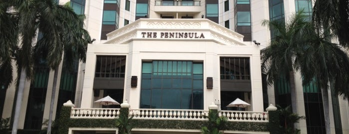 The Peninsula Bangkok is one of Lieux qui ont plu à SV.