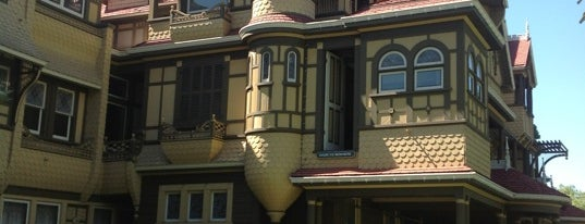 Winchester Mystery House is one of California Favorites.