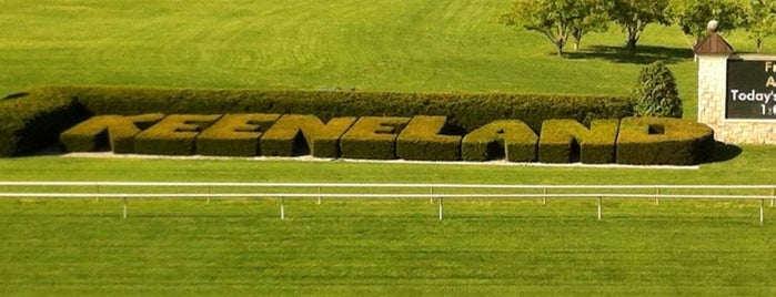 Keeneland is one of 1000 Places To See Before You Die.