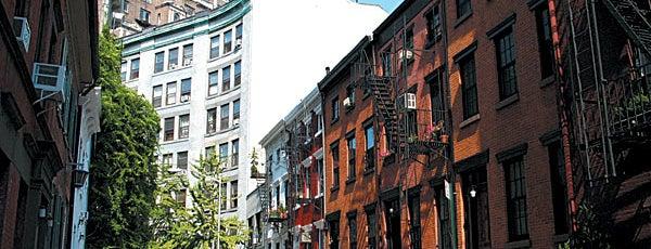 Universidad de Nueva York is one of Manhattan Neighbohoods.