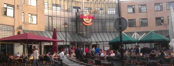 Hard Rock Cafe Amsterdam is one of Hard Rock Cafes I've Visited.