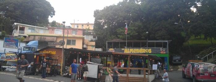 Los Almendros is one of Barras PR.