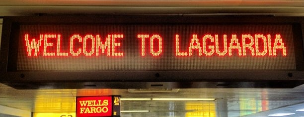 LaGuardia Airport (LGA) is one of Locais salvos de Nadia.